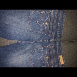 Levi's low boot cut jeans